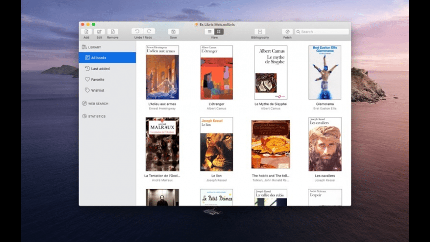 ExLibris for Mac - review, screenshots