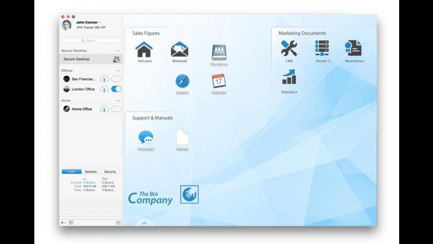 VPN Tracker for Mac - review, screenshots