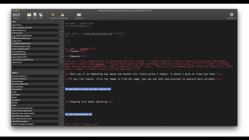 Dendrite for Mac - review, screenshots