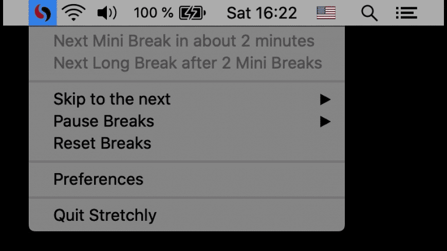 Stretchly for Mac - review, screenshots