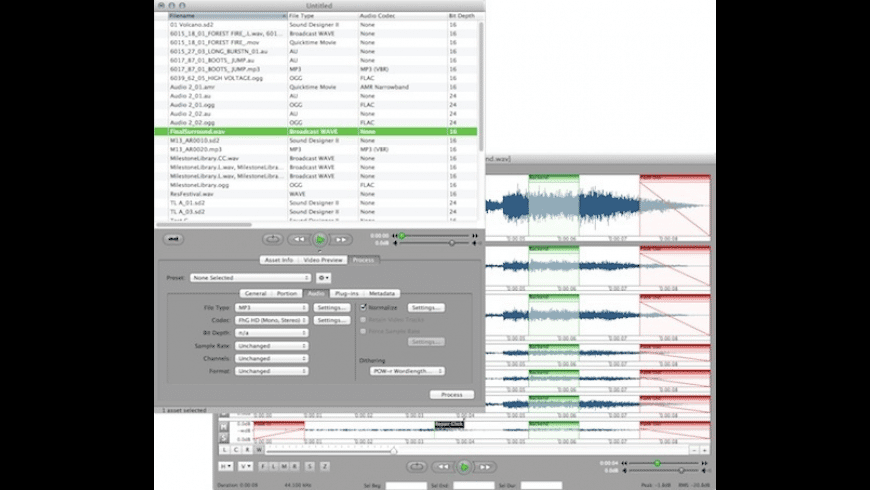 Sound Grinder Pro for Mac - review, screenshots