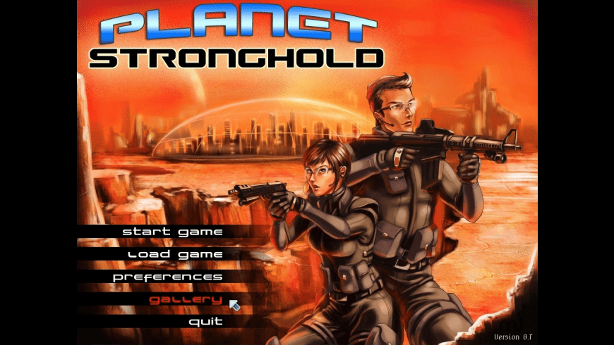 Planet Stronghold for Mac - review, screenshots