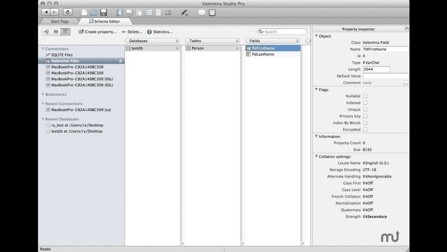 Valentina Server for Mac - review, screenshots
