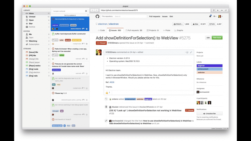 Jasper for Mac - review, screenshots