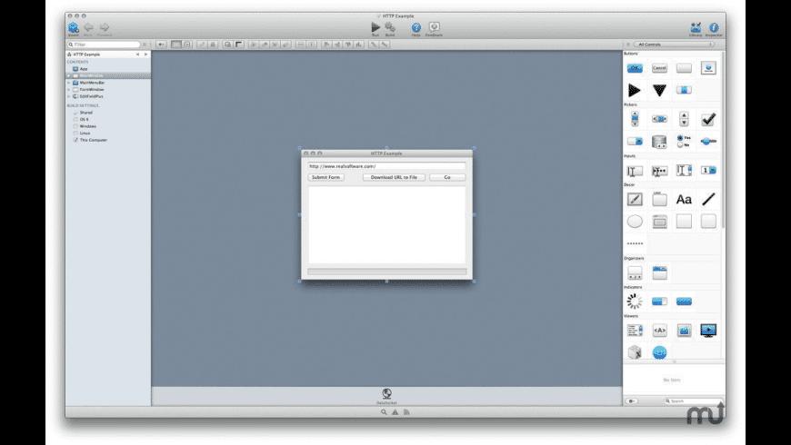 Xojo Pro for Mac - review, screenshots