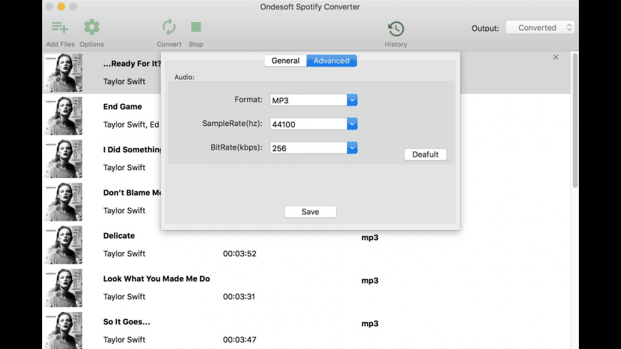 Ondesoft Spotify Converter for Mac - review, screenshots