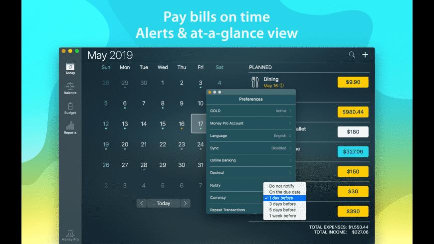 Money Pro for Mac - review, screenshots