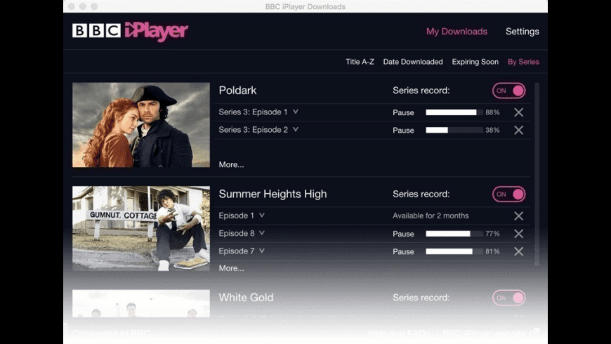 BBC iPlayer for Mac - review, screenshots