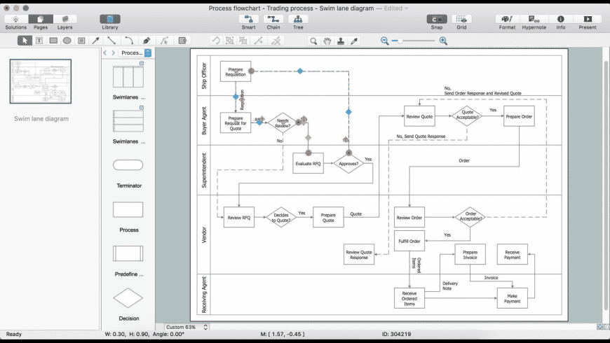 ConceptDraw Office for Mac - review, screenshots