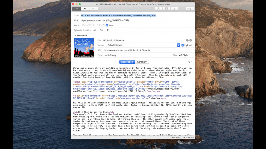 Feeder for Mac - review, screenshots
