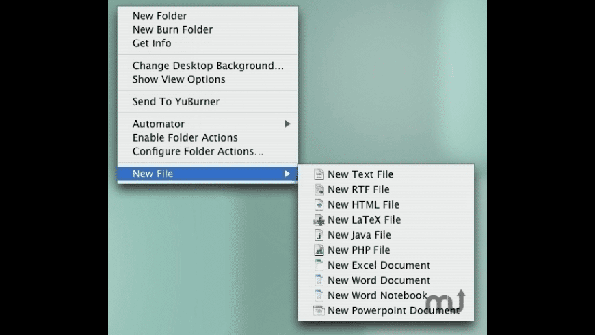 NuFile for Mac - review, screenshots