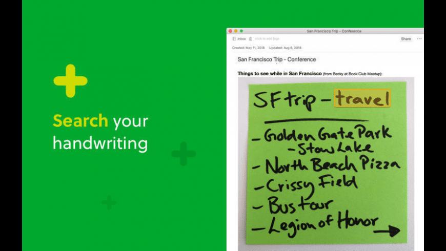 Evernote for Mac - review, screenshots