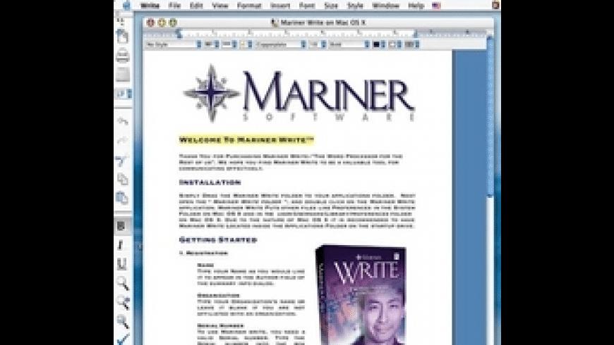 Mariner Write for Mac - review, screenshots