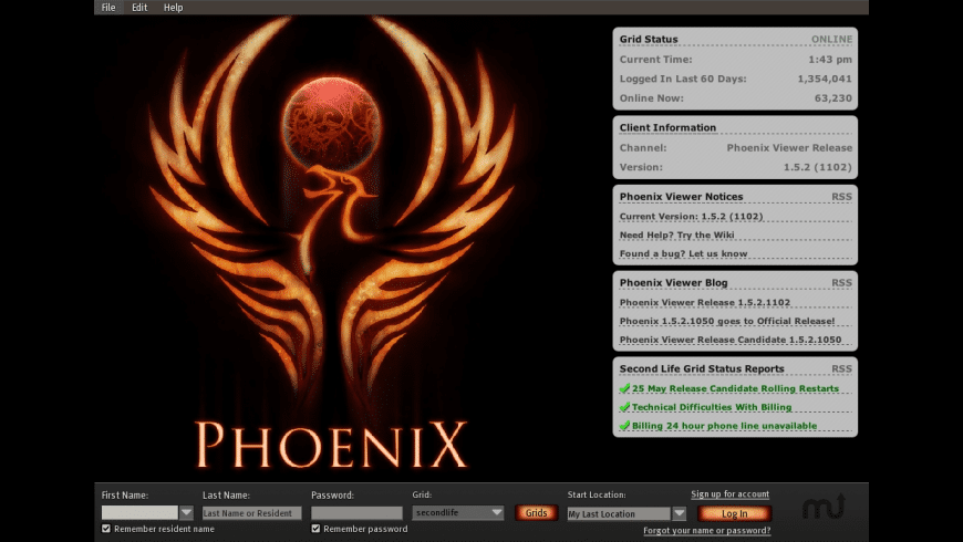 Phoenix Viewer for Mac - review, screenshots