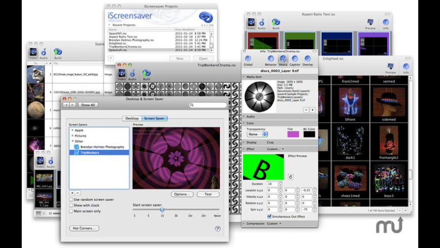 iScreensaver Personal for Mac - review, screenshots