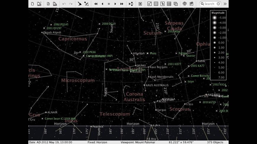 AstroGrav for Mac - review, screenshots