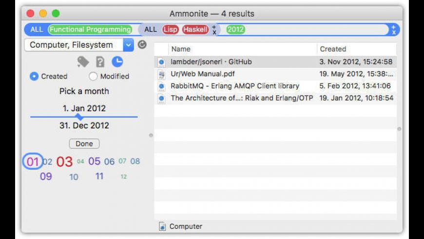 Ammonite for Mac - review, screenshots