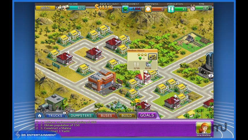 Virtual City for Mac - review, screenshots