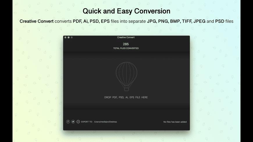 Creative Convert for Mac - review, screenshots