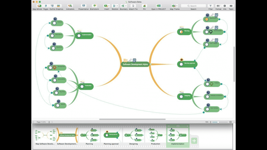 ConceptDraw MINDMAP for Mac - review, screenshots