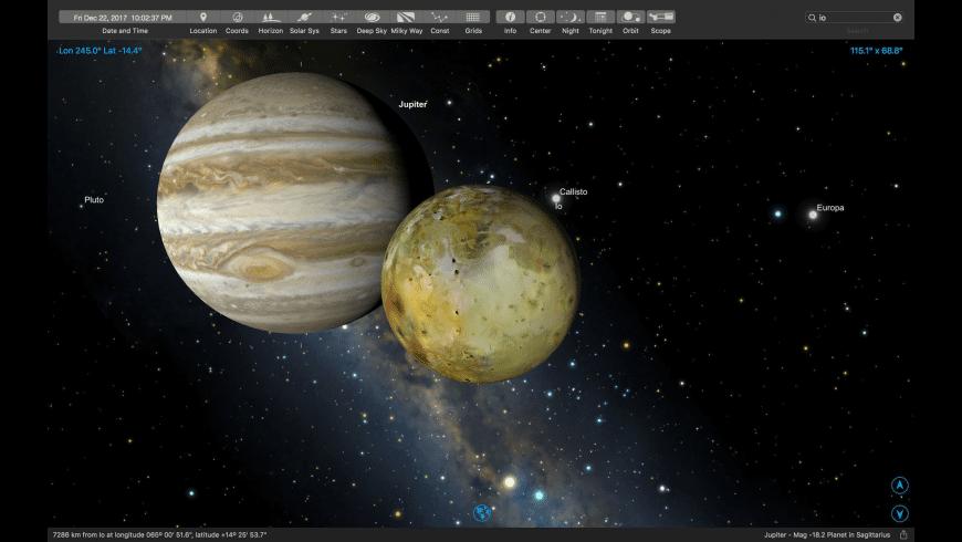 SkySafari Plus for Mac - review, screenshots