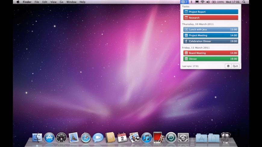 CalendarBar for Mac - review, screenshots