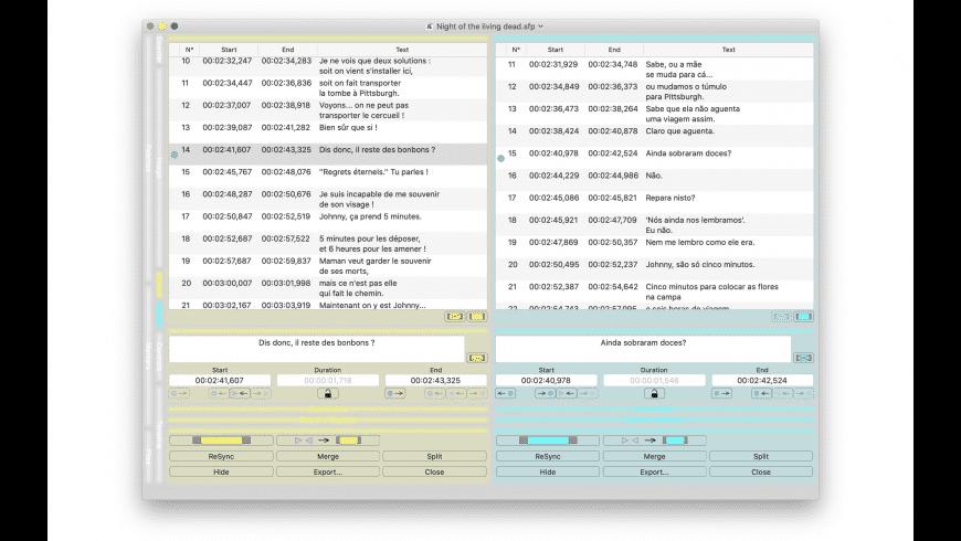 Subs Factory for Mac - review, screenshots