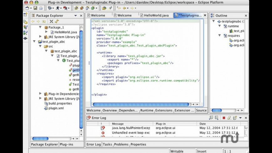 Eclipse IDE for Mac - review, screenshots