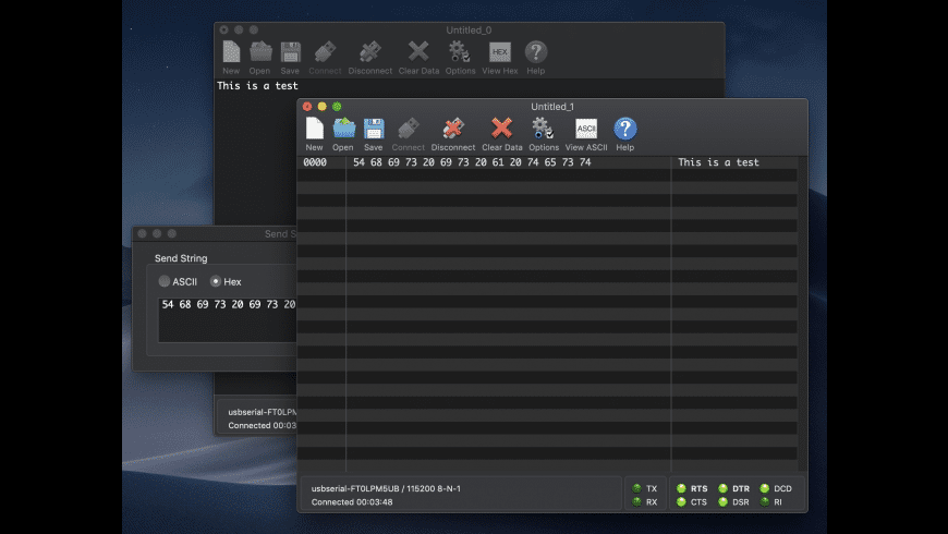 CoolTerm for Mac - review, screenshots