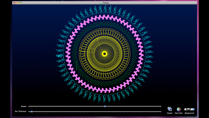 SpiralArt for Mac - review, screenshots