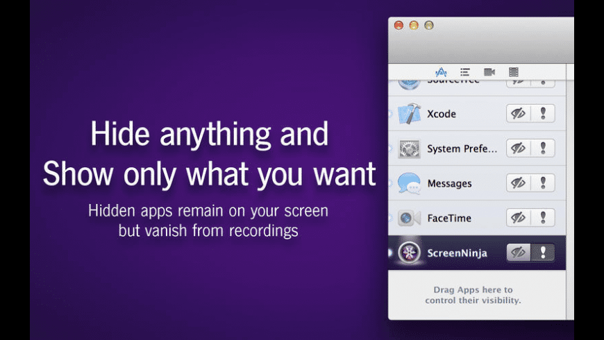 ScreenNinja for Mac - review, screenshots