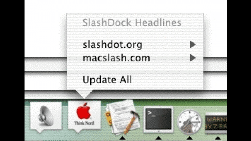 SlashDock for Mac - review, screenshots
