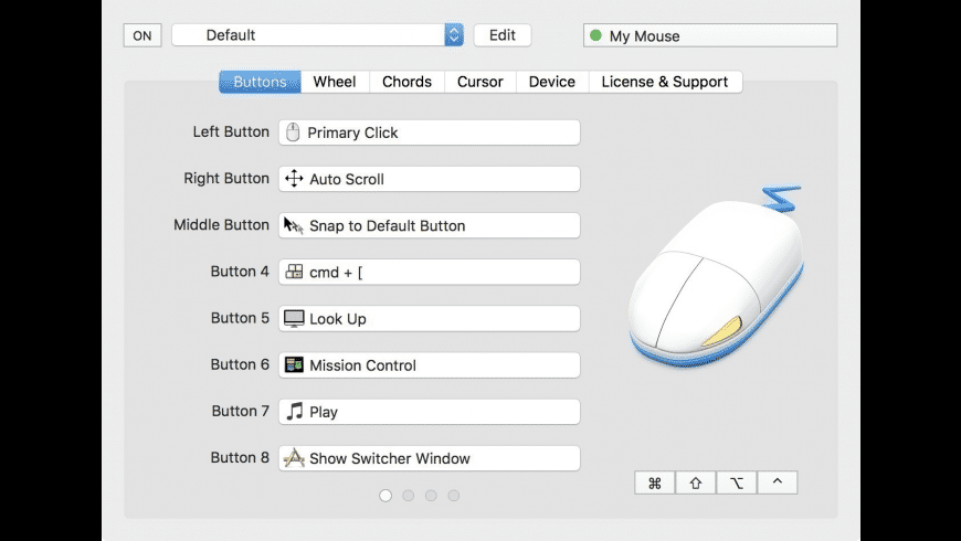 SteerMouse for Mac - review, screenshots