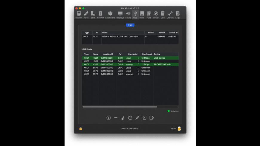 Hackintool for Mac - review, screenshots
