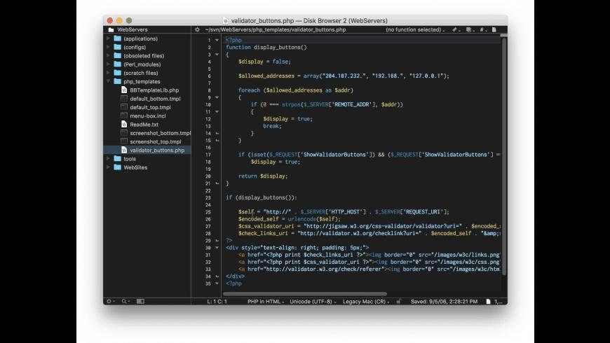 BBEdit for Mac - review, screenshots