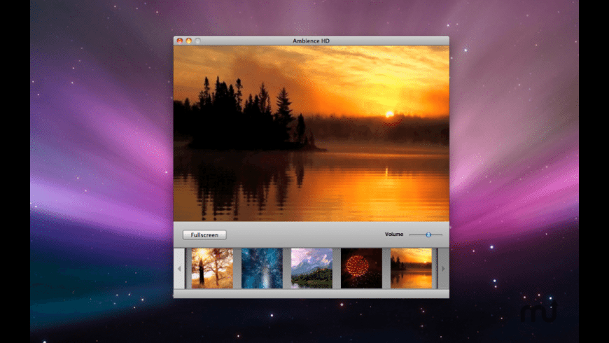 Ambience for Mac - review, screenshots