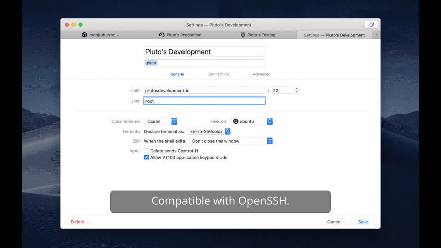 Core Shell for Mac - review, screenshots