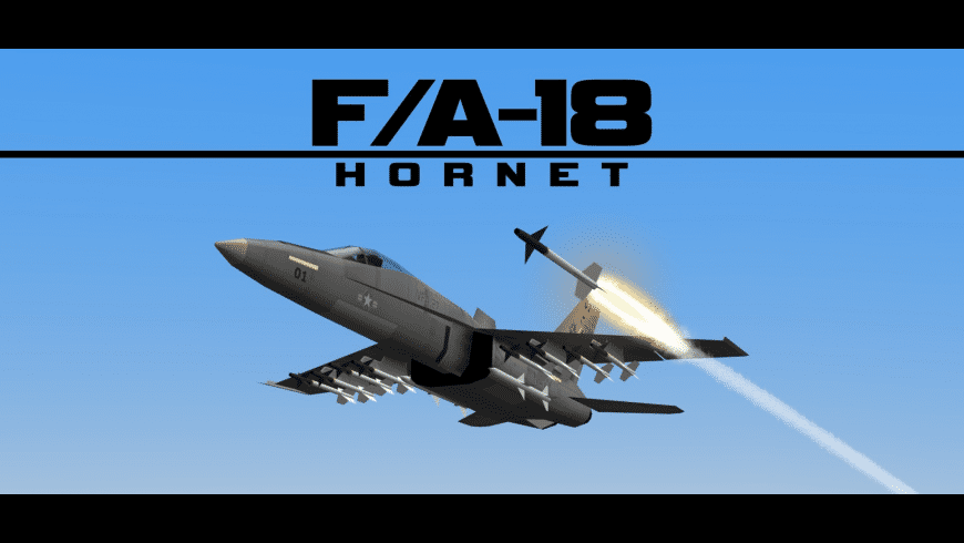 FA18 Hornet Fighter Jet for Mac - review, screenshots