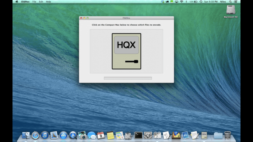 OldHex for Mac - review, screenshots