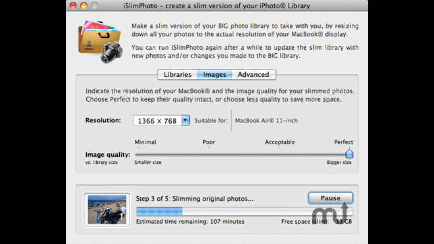 iSlimPhoto for Mac - review, screenshots