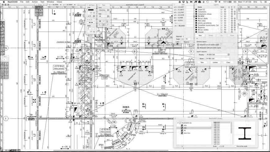 RealCADD for Mac - review, screenshots
