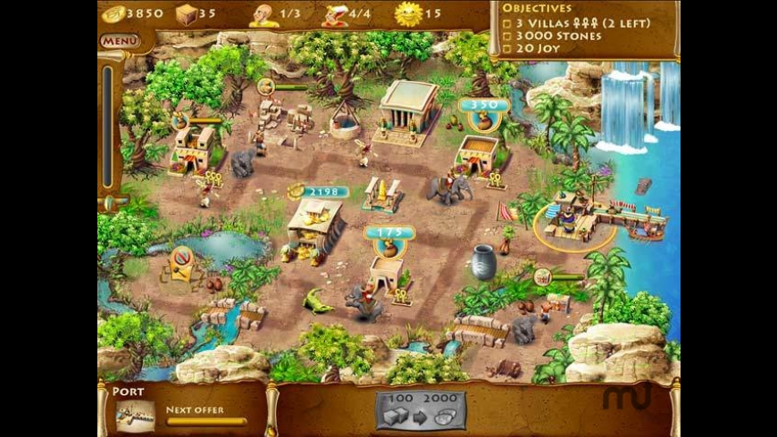 The Timebuilders: Pyramid Rising for Mac - review, screenshots