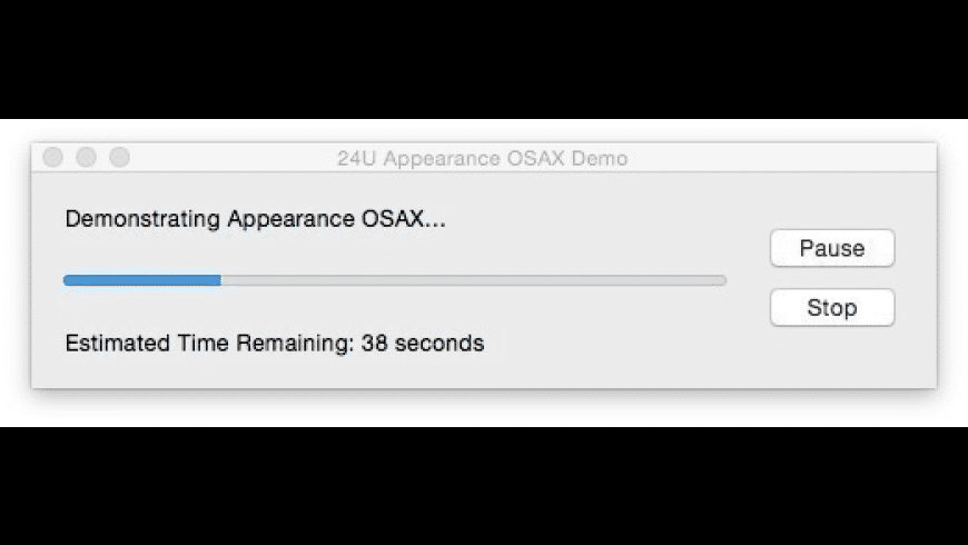 24U Appearance OSAX for Mac - review, screenshots