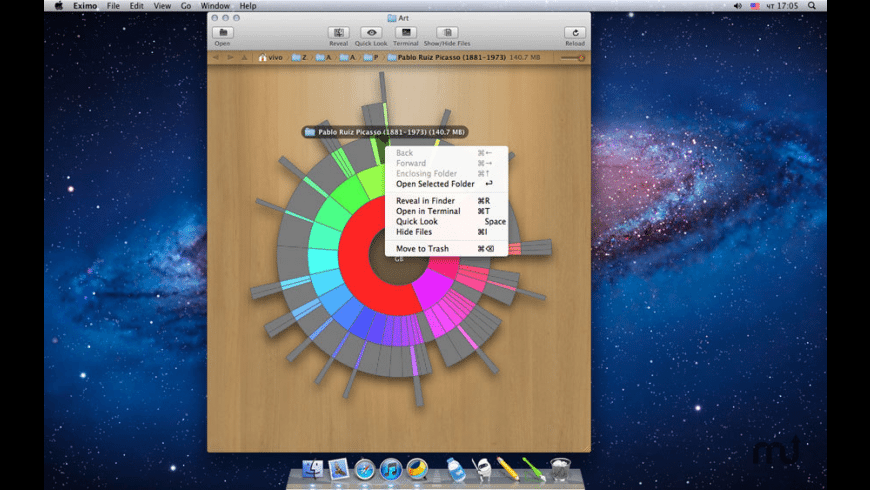 Eximo for Mac - review, screenshots