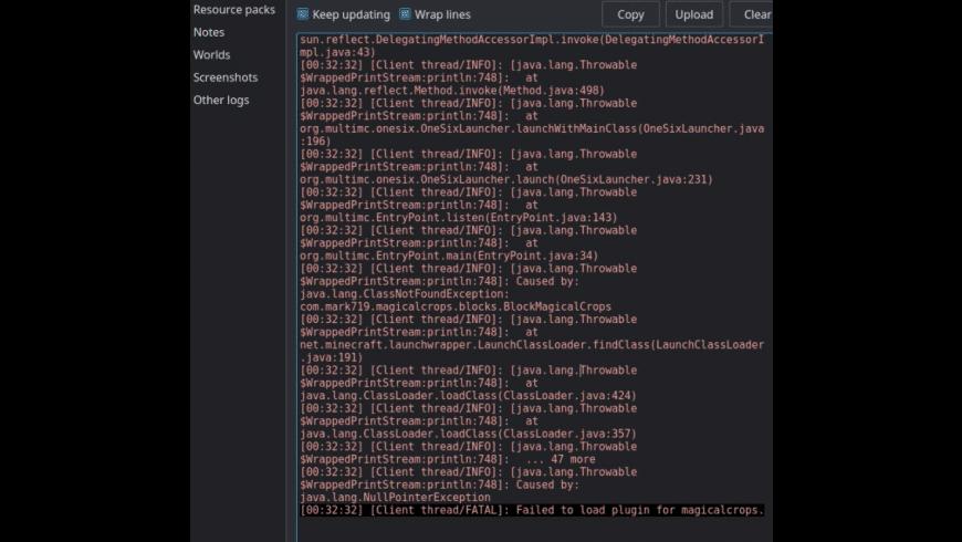 MultiMC for Mac - review, screenshots