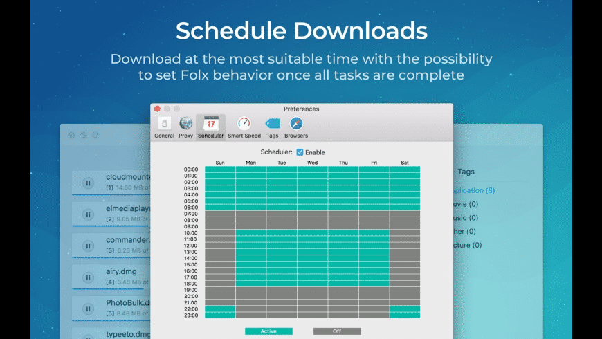 Folx GO+ for Mac - review, screenshots
