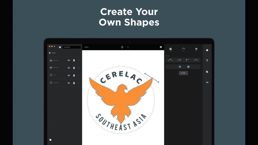 Logo Maker for Mac - review, screenshots