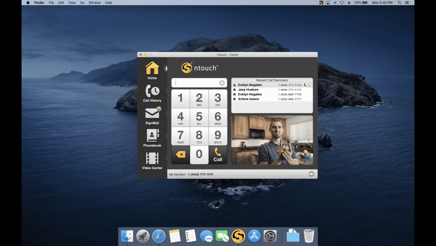 ntouch for Mac - review, screenshots