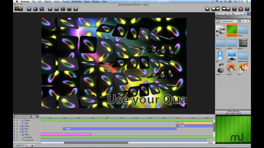 Kinemac for Mac - review, screenshots