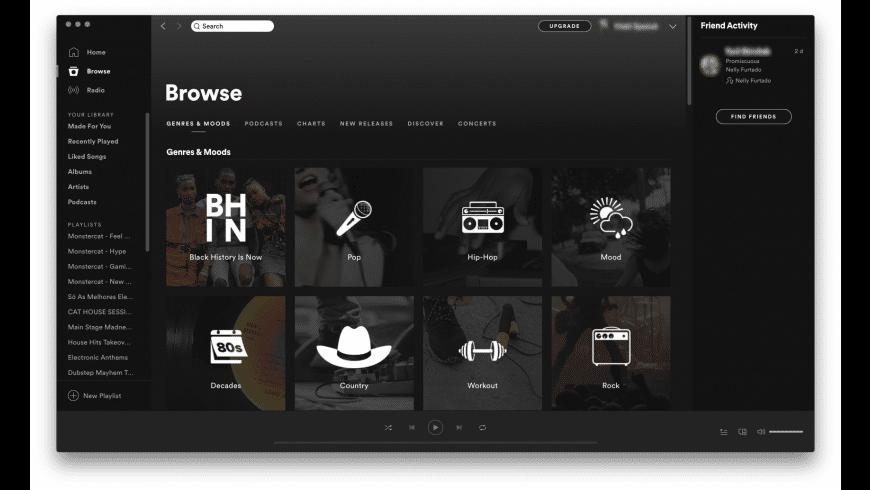 Download Spotify For Mac Desktop